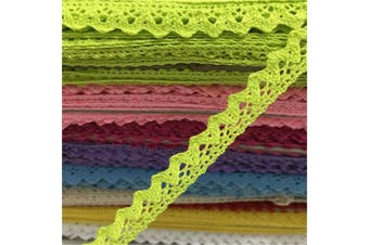 (green) - OZXCHIXU(TM) 2 metres Sewing Lace Ribbon Trim Guipure 15mm width for Scrapbooking Gift Packing (green)