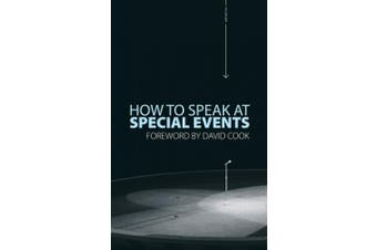 How to Speak at Special Events