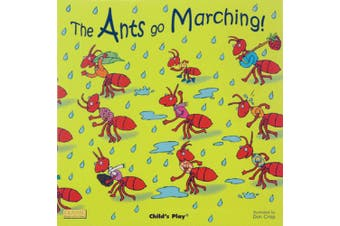 The Ants Go Marching (Classic Books with Holes US Soft Cover with CD) [Board book]