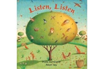 Listen, Listen [Board book]