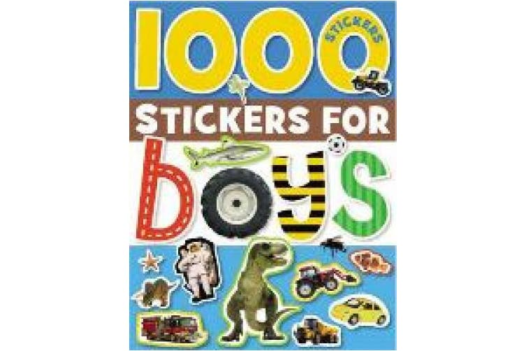 1000 Stickers for Boys (1000 Stickers For...)