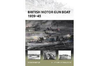 British Motor Gun Boat 1939-45 (New Vanguard S.)