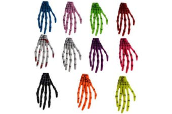Bzybel Punk Women Skull Shapes Hair Clips Hairpins Hair Styling Accessories Prom Party Hairpin for Women Girls, Pack of 11 Colours
