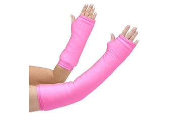 CastCoverz! Armz! Washable and Reusable Cast Cover in Neon Pink - Medium Long