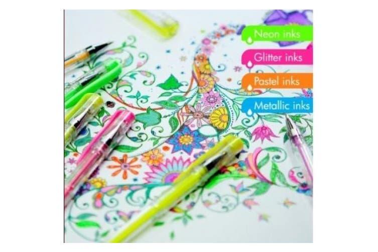 Gel Pens, 48 Ink Color Set
