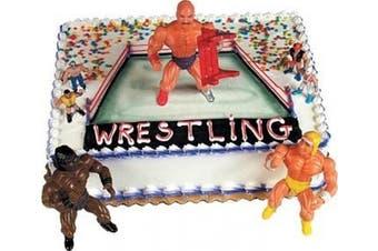 (Pro Wrestlers) - Cake Decorating Kit CupCake Decorating Kit Sports Toys (Pro Wrestlers)