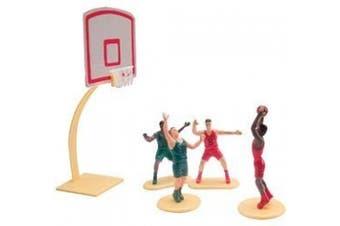 (Basket Ball Kit) - Cake Decorating Kit CupCake Decorating Kit Sports Toys (Basket Ball Kit)