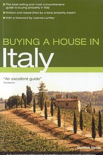 Buying a House in Italy (Buying a House in) The leading guide to Buying a House in Italy, this fully comprehensive book combines cultural and economical information with practical tips and advice. It reveals how to find all types of property from villas and apartments to farms and vineyards. It will divulge inside information on the up-and-coming areas in Italy, where the bargains are to be found as well as full coverage of the regions already popular with British buyers.Fully revised, this new edition boasts up-to-date information on subjects such as property prices, housing regulations and taxation. It will cover all of the essentials, from raising finance and dealing with estate agents to arranging removals, getting power and water connected and dealing with builders.  Reviews 'Buying a House in Italy is an excellent guide.' -The Observer.  About the Author Grodon Neale has lived and worked in Italy for many years and has had much experience in restoring houses in the country. Buying a House in Italy was his first book and it is now in its third edition