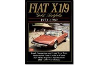 Fiat X1/9 Gold Portfolio: 1973-1989 (Gold portfolio series)