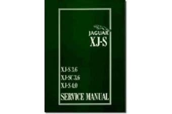Jaguar XJS 3.6 and 4.0 Litre Service Manual (Official Service Manual)