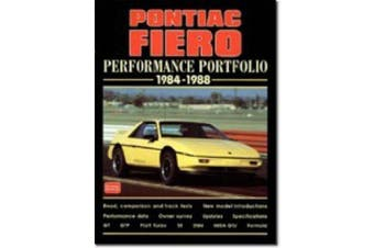 Pontiac Fiero Performance Portfolio 1984-88 (Performance Portfolio)