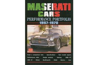Maserati Cars Performance Portfolio 1957-70