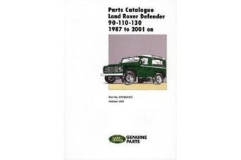 Land Rover Defender 90-110-130 Parts Catalogue 1987-2001 On: STC9021CC
