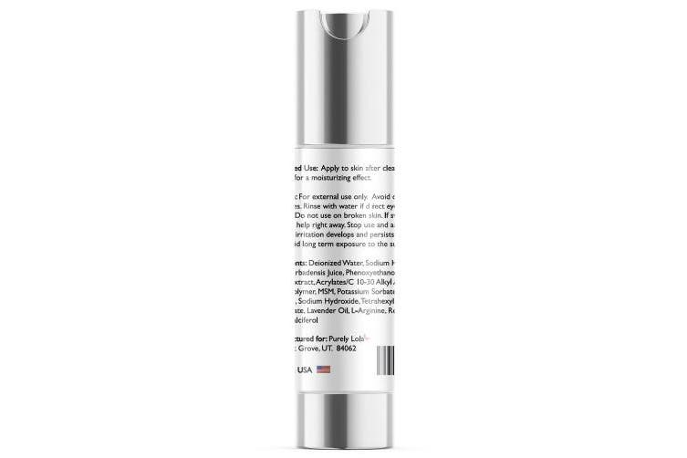Youthful Surge BEST Hyaluronic Acid Serum With Vitamin C, E & Lavender Oil Get Smooth Skin, Diminish Fine Lines & Wrinkles With Anti Ageing Effects For Face & Eye Health 50ml Airless Pump - Purely Lola