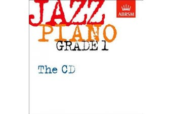 Jazz Piano Grade 1: The CD (ABRSM Exam Pieces) [Audio]