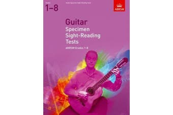 Guitar Specimen Sight-Reading Tests, Grades 1-8 (ABRSM Sight-reading)