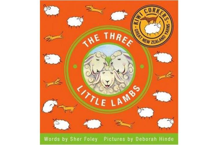 The Three Little Lambs (Kiwi Corkers Great New Zealand Yarns)