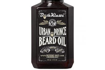 (Beard Oil 60ml, Urban Prince) - Urban Prince Beard Oil Conditioner Premium Beard Moisturiser Refreshing Scent 60ml - Best Leave in Conditioner Scented Beard Oil Gift Bearded Men