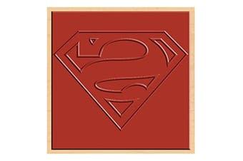 Rubber Stamp DC Comics Superman Logo Rubber Stamp