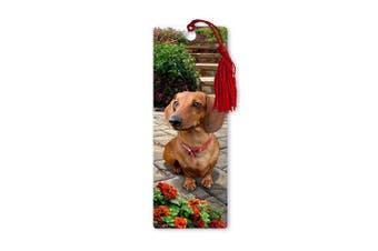 Dimension 9 3D Lenticular Bookmark with Tassel, Dachshund, Pet Breed Series (LBM049)
