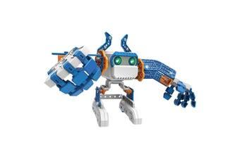 (Blue) - Meccano - Micronoid - Blue Basher