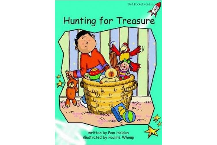 Hunting for Treasure: Fluency: Level 2 (Red Rocket Readers: Fiction Set A)