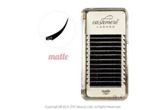 (0.15 C 13mm) - Cashmere Lashes® | Classic Ellipse Flat Split Tips Lashes | Matte Finish 0.15 C D Curl Single & Mixed Tray | Individual Eyelash Extensions (0.15 C 13mm)