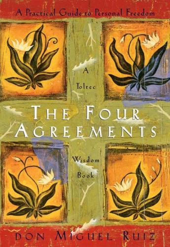 The Four Agreements Illustrated Edition: A Practical Guide to Personal Freedom In The Four Agreements, don Miguel Ruiz reveals  the source of self-limiting beliefs that rob us of joy and create needless suffering. Based on ancient Toltec wisdom, the Four Agreements offer a powerful code of conduct that can  rapidly transform our lives to a new experience of freedom,  true happiness, and love. This 2-CD set blends new insights  with old wisdom.