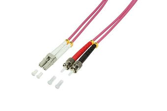 LogiLight Fibre Patch Cable 50 / 125 µm OM4 LC-ST 5 M)
