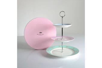 Miss Darcy Hotchpotch Three Tier Cake Stand by Bombay Duck