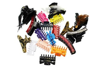 10 Assorted Jaw Clips by CoverYourHair