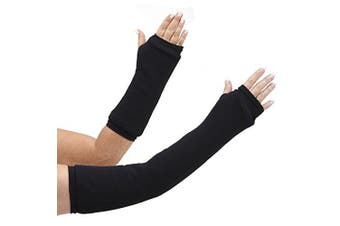 CastCoverz! Armz! Washable and Reusable Cast Cover in Black - Medium Long