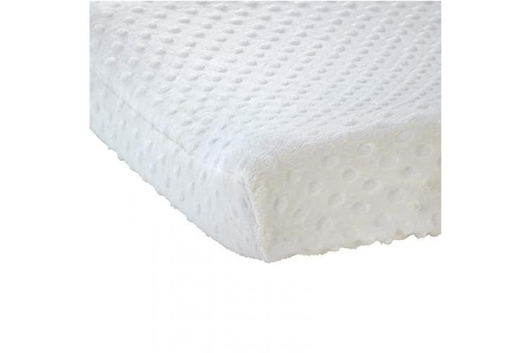 (Ecru) - Carter's Changing Pad Cover, Solid Ecru, One Size