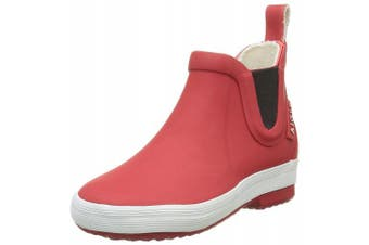 (Uk Child 2 UK, Red (Rouge)) - Aigle Unisex Kids' Lolly Chelsea Rain Boots
