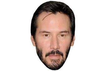 Keanu Reeves Celebrity Mask, Cardboard Face and Fancy Dress Mask
