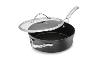 Calphalon Contemporary Hard-Anodized Aluminium Nonstick Saute Pan, 2.8l, Black