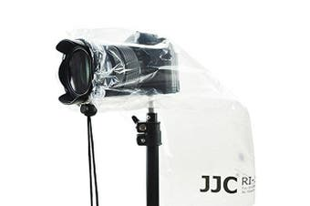 """JJC Rain Cover Coat For DSLRs with prime lens and Mirrorless Cameras with lens up to 11"""" (28cm) long and 7"""" (17cm) wide"""
