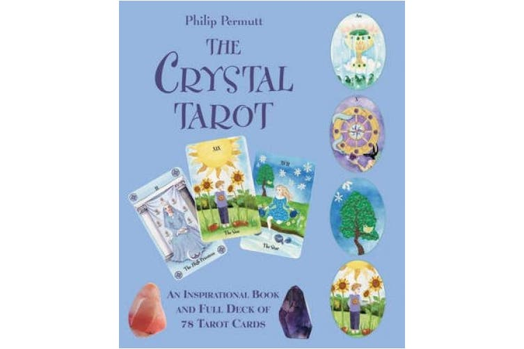 The Crystal Tarot: An Inspirational Book and Full Deck of 78 Tarot Cards [With Paperback Book]