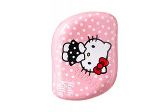 (Hello Kitty Pink) - Tangle Teezer The Compact Styler, On-the-go Detangling Hairbrush for All Hair Types - Hello Kitty Pink