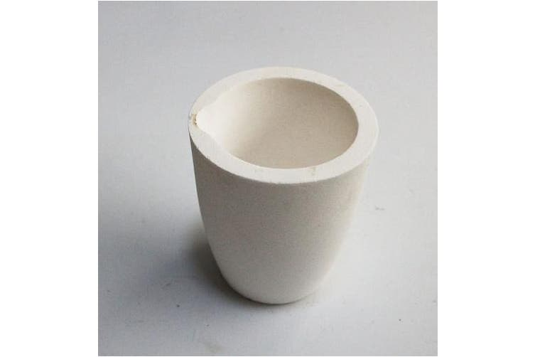 OTOOLWORLD Ceramic Melting Crucible Cup Furnace Melting Casting Refining Gold Silver Copper Casting CUP 1000g
