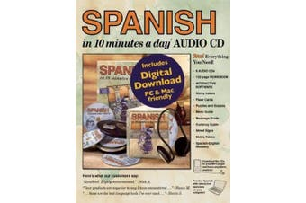 Spanish in 10 Minutes a Day Audio CD: Foreign Language Course for Beginning and Advanced Study. Includes 10 Minutes a Day Workbook, Audio Cds, Softwar [Spanish] [Audio]