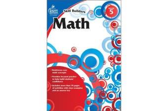 Math, Grade 5 (Skill Builders (Carson-Dellosa))
