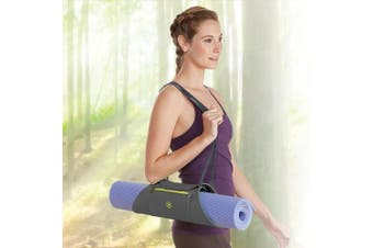 (Citron Storm) - Gaiam On-The-Go Yoga Mat Carrier
