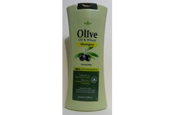 """""""HerbOlive"""" Olive oil & Wheat Shampoo for normal hair 200ml"""