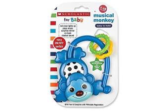 Scholastic Musical Monkey, Blue