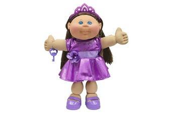 (Glitz) - Cabbage Patch Kids 36cm Kids - Brunette Hair/Blue Eye Girl Doll in Glitz Fashion