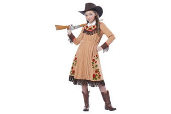 (Large, One Color) - California Costumes Cowgirl/Annie Oakley Girl Costume, One Colour, Large
