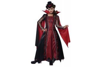 (Large) - California Costumes Victorian Vampira Child Costume, Large