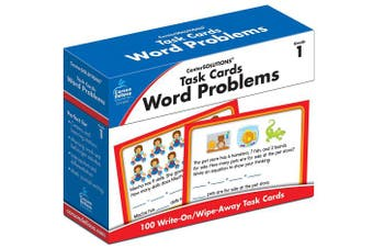 Task Cards: Word Problems Grade 1 Board Game