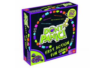 Don't Panic Game -- With 850 Fun Topics to Name Quickly